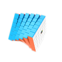 Moyu meilong neo antiestresse 65mm velocidade cubo 6x6x6 cubo magico profissão quebra cabeça cubos mágicos crianças de educação brinquedos presente