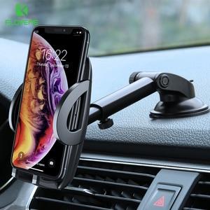 Image 1 - Suporte Do Telefone Do Carro Para o iphone XS MAX XR FLOVEME X Xiaomi 360 Rotate Dashboard Ventosa Car Mount Suporte Móvel Para suporte do telefone telefon tutucu soporte movil coche