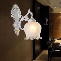 Top Goldene generation minimalistischen hotel nacht korridor glas wand lampe LED aisle einzigen kopf Europäischen wand lampe|Wandleuchten|Licht & Beleuchtung -