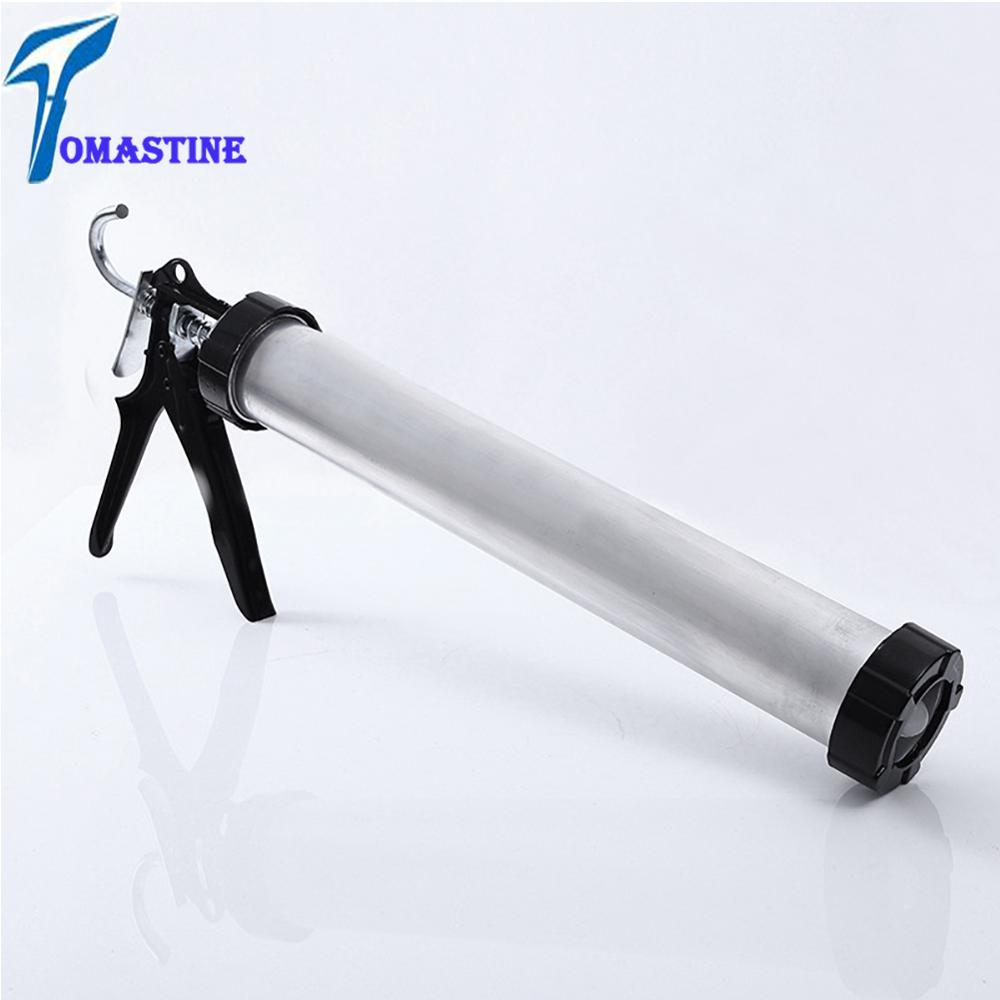 2019 New Aluminum Alloy Sausage Sealant Pneumatic Caulking Gun Pneumatic Caulk Gun Pneumatic Caulking Tool Pneumatic Silicon Gun