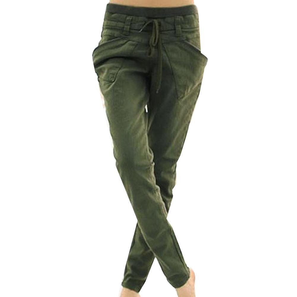 Cargo pants womens High Waist Loose Streetwear pants Baggy Tactical Trouser hip hop pants Fation womens Capris