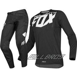 Хит продаж! Тонкий комплект одежды из джерси с лисой, модель MX 360 Kila, 2019