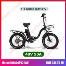 Electric bike 750W 4.0 fat tire electric bike beach cruiser bikes Booster bicycle folding 48v 15AH lithium battery ebike
