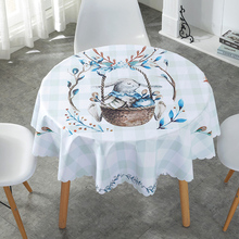 Proud Rose Cartoon Waterproof Table Cloth Oilproof Tafelkleed Plastic PVC Tablecloths Cover Home Decor