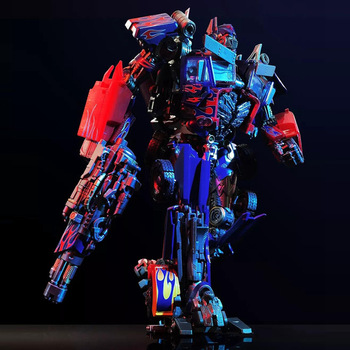 Transformers Optimus Prime MPM04 KM01S Metal Part Autobot Model Deformation Robot Action Figure Collections Christmas Gifts 2