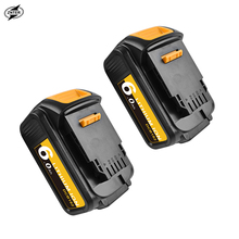 ZNTER 18V 6000mAh Tool Battery for Dewalt Power Battery for DCB180 DCB181 DCB182 DCB201 DCB201-2 DCB200 DCB200-2 DCB204-2 L50 18v 3000mah dcb200 li ion rechargeable power tool battery for dewalt dcb203 dcb181 dcb180 dcb200 dcb201 dcb201 2 l10