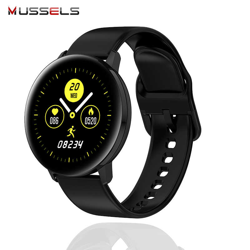 Smart Horloge 2020 Full Touch Screen Hd Display Sport Fitness Tracker Horloge Smartwatch Smart Polsband Armband Horloge
