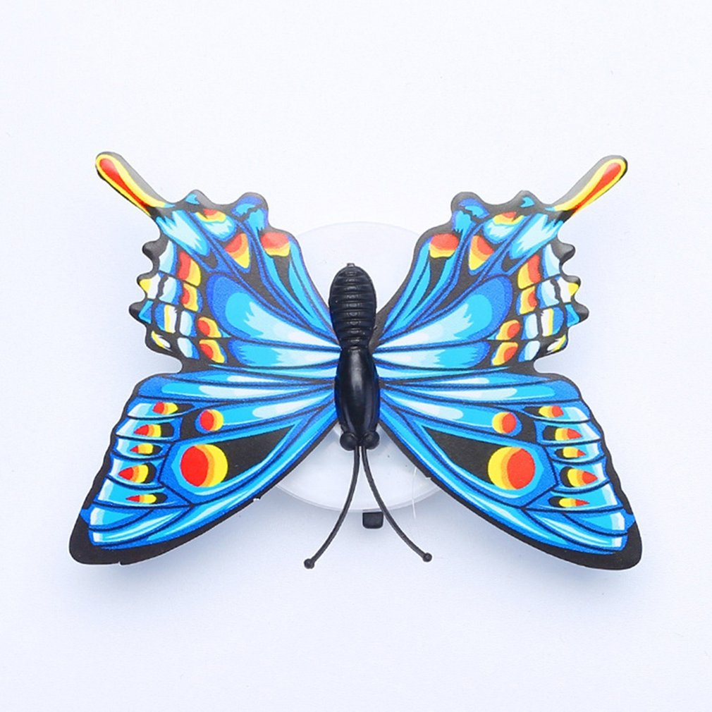 LED Night Light Butterfly LED Night Light Lamp With Colorful Changing For Home Room Party Desk Wall Decor