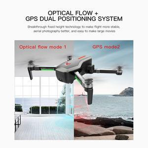 Image 3 - Rc dört pervaneli helikopter SG906 Drone GPS 4K HD kamera 5G WIFI FPV fırçasız motor katlanabilir Selfie Drones profesyonel 800m uzun mesafe