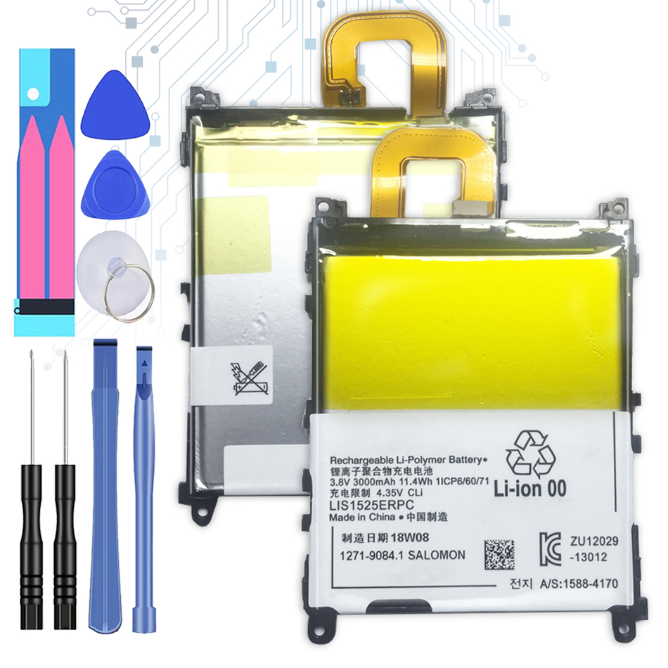 3000mAh LIS1525ERPC Replacement Battery For Sony Xperia Z1 L39h Honami SO-01F C6902 C6903 C6943 +Tracking Number