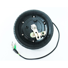 8 500W 350KW Rated Power 24V 36V 48V Vacuum Tire Electric Scooter Motor Electric Wheel Hub Motor Brushless Motor for Scooter 12 350w 36v electric brushless hub motor electric scooter motor kit e scooter motor for xiaomi scooter