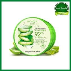 100% Originele Aloë Vera Gel 92% Natuurlijke Gezicht Crèmes Moisturizer Acne Behandeling Gel Voor Huidherstellende Natuurlijke Schoonheid Producten