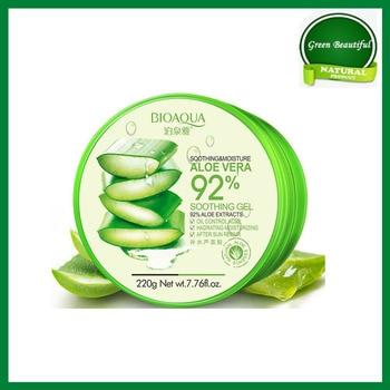 100% original Aloe Vera Gel 92% Natural Face Creams Moisturizer Acne Treatment Gel for Skin Repairing Natural Beauty Products недорого