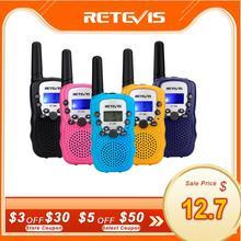 RETEVIS walkie talkie RT388 para niños, Comunicador con radio a distancia, 100 800M, walkie talkies, regalo de cumpleaños y Navidad, 2 uds.
