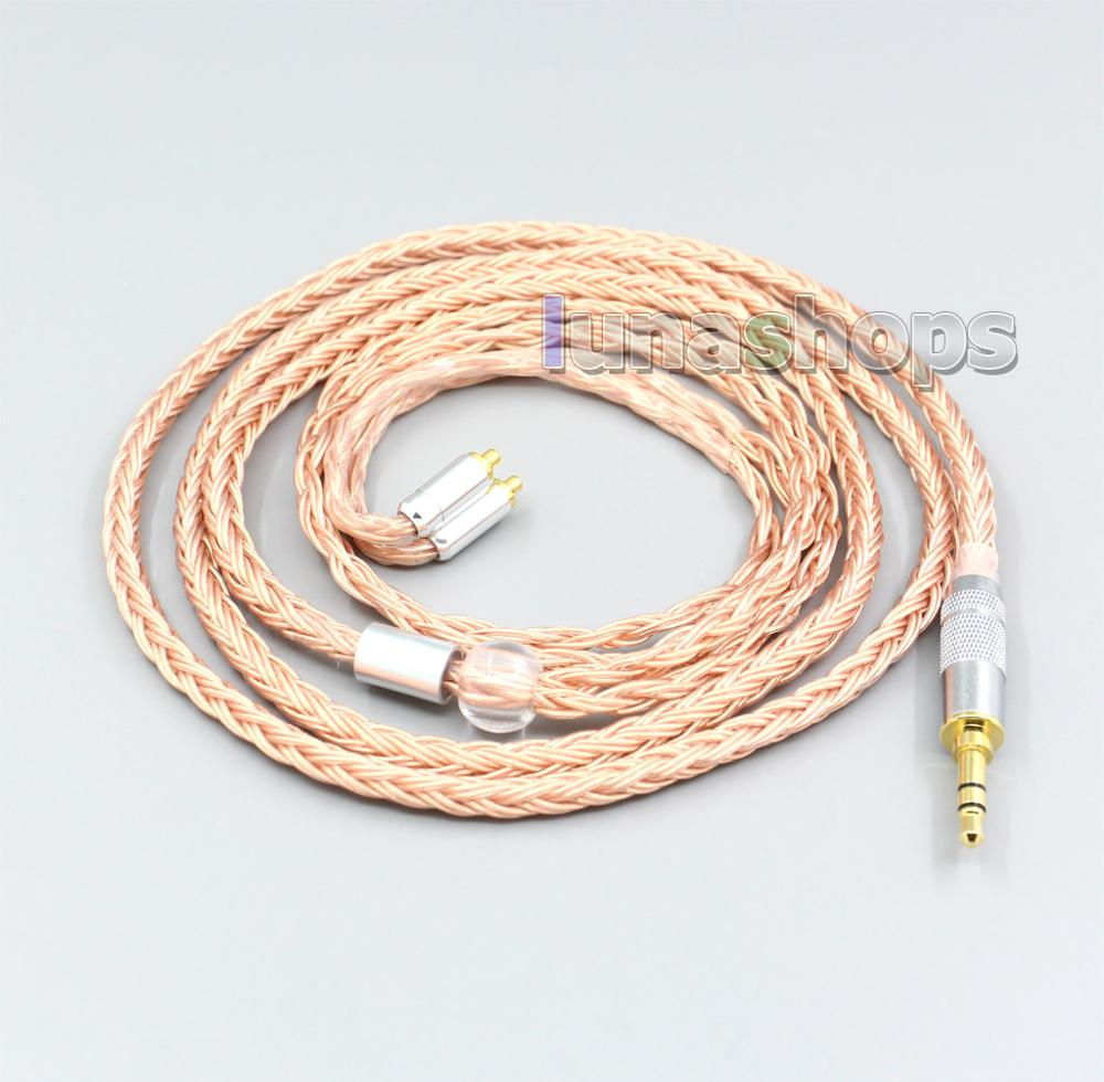 LN006734 2.5mm 3.5mm XLR Balanced 16 Core 99% 7N OCC Earphone Cable For AKG N5005 N30 N40 MMCX