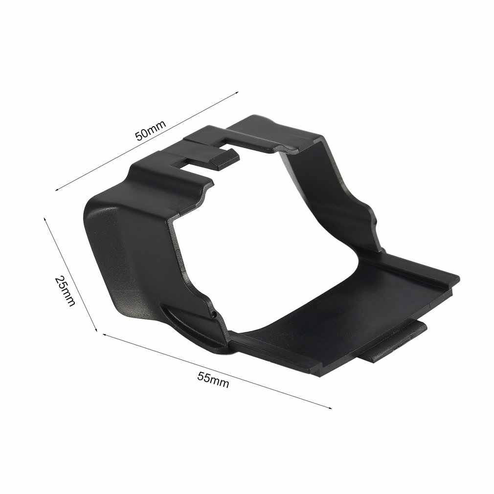 Cardan lente da câmera sunhood sunshade capa protetor de caso protetor anti-reflexo tampa peças acessório para dji mavic ar rc fpv zangão