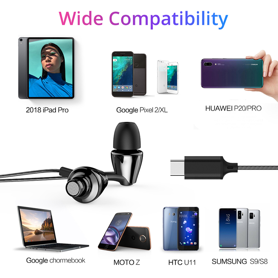 USB Type c earphone (10)