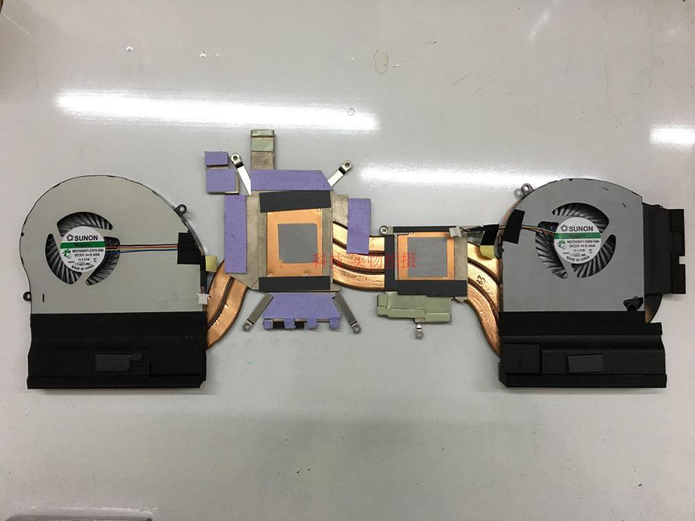 New CPU Cooler Fan/Heatsink For DELL Alienware 17 R4 ALW17C GTX1080 0K2PKV K2PKV MG75090V1-C060-S9A MG75090V1-C070-S9A Radiator