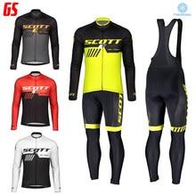 2021 scotte inverno men triathlon manga longa velo térmico quente ciclismo jaqueta bib calças 20 gel almofada de ciclismo bicicleta ternos ao ar livre