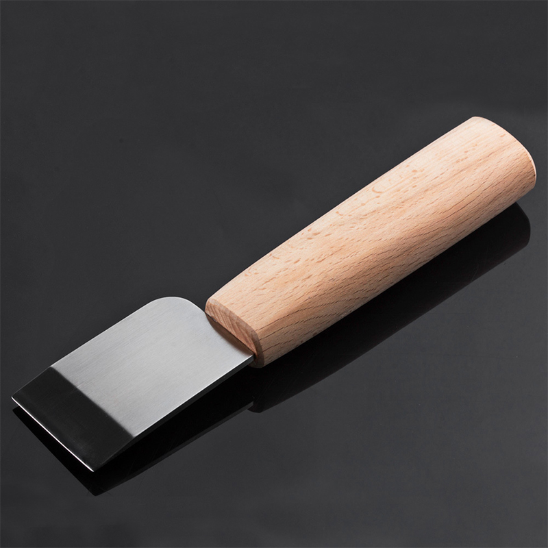 MIUSIE Professional Leather Craft Cutting Knife DIY Craft Knife Sharping Skiving Tool High Speed Steel Blade Right/Left Handed