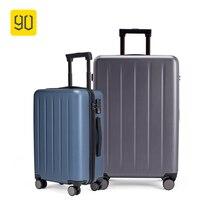90FUN 1A 20/26 дюймов PC чемодан на вращающиеся колеса прокатки Чемодан пароль Бизнес каникулы для Для женщин Для мужчин viagem