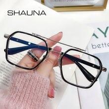 Женские очки в ретро стиле shauna квадратные оправы для очков
