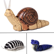 Infrared RC Remote Control insects snail Tide worm RC animals Trick Terrifying Mischief Toys Funny Novelty Gift kids toys