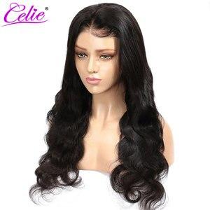 Image 4 - Celie vücut dalga dantel ön peruk s 28 30 inç dantel ön peruk 360 dantel ön peruk siyah kadınlar için 13x6 dantel ön İnsan saç peruk