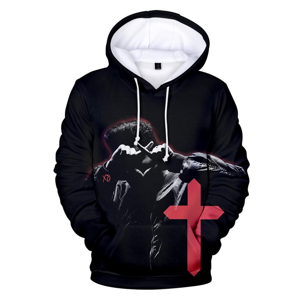 The Weeknd 3D Hoody Women/men 2019 Aikooki New Fashion Print Popular Hip Hop Casual The Weeknd 3D Hoodie Casual Coats Top