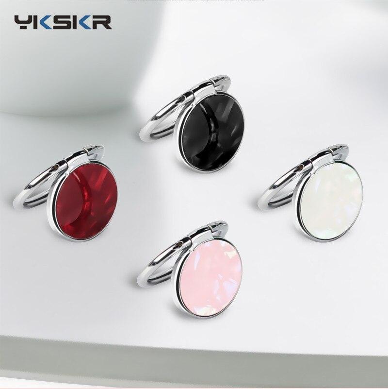 Luxury Metal Mobile Phone Ring Holder Universal 360 Degree Rotation Finger Ring Holder Bracket Socket Telephone Ring For iPhone