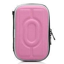 """Портативный жесткий чехол для переноски, сумка на молнии, EVA чехол для переноски, чехол 2,"""" HDD, внешний жесткий диск, защитная коробка"""