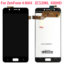 """For 5.2"""" Asus ZC520KL LCD Display Touch Screen Digitizer For ASUS ZenFone 4 MAX ZC520KL LCD With Frame X00HD Screen Replacement"""