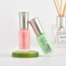 Полупрозрачный лак для ногтей, полупрозрачный гель, Быстросохнущий прозрачный лак, 10 мл, неизолированный сахарный цвет, экологически чисты...