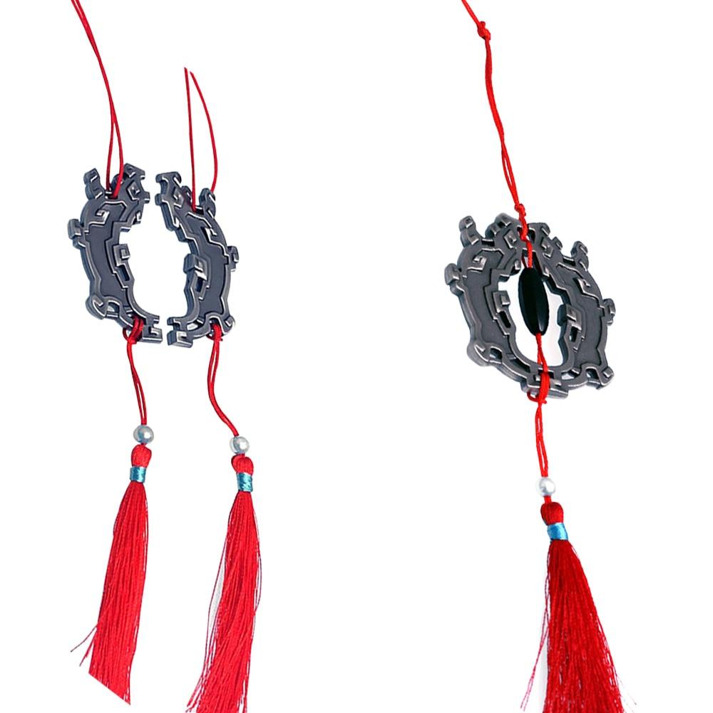 Grandmaster Of Demonic Cultivation Metal Weapon Hanger Wei Wuxian's Pedant Mo Dao Zu Shi Waist Accessories