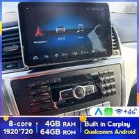 Lettore multimediale per auto Android Radio GPS per Mercedes Benz classe ML GLK GLS GLE SLK SLC SL ML W166 GL X166 classe 2012- 2018 8Core