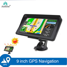 GPS Navigation Bluetooth-Ram Anfilite Capactive-Screen 9inch 256M Europe Car Fm 8GB
