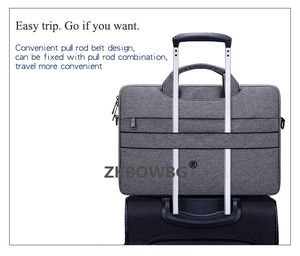 Image 5 - כתף שקיות מחשב נייד שרוול תיק עבור Huawei MateBook X פרו E D HZ W09 W19 13 13.9 12 14 15 15.6 Tablet פאוץ Case תיק כיסוי