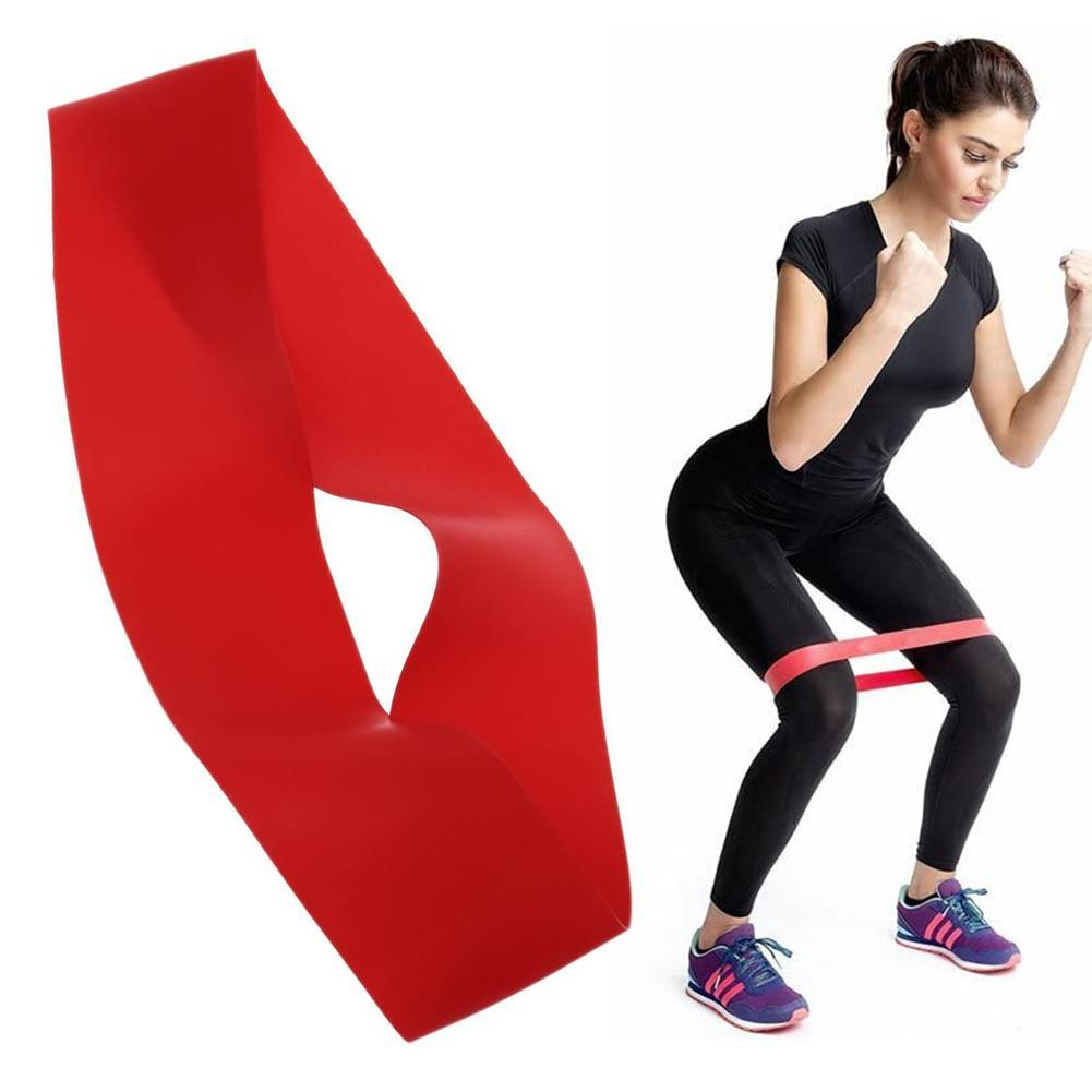 New 5 Colors Yoga Fitness Exercise Band Rubber Bands Indoor Outdoor Fitness Equipment 0.35mm-1.1mm Pilates Sport Training Home