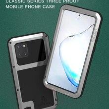 Original Love Mei Powerful Case For Samsung Galaxy Note 10 Lite 6.7 inch Shockpr