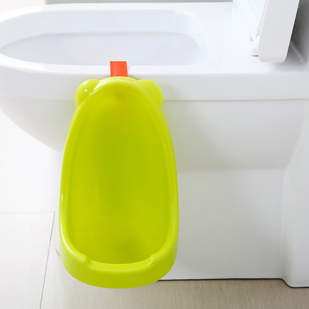 Boy Practical Hanging Type PP Training Toilet Spill Proof Safe Easy Clean Travel Bathroom Pee Children Potty Baby