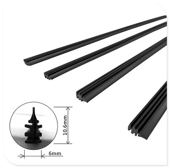 Car Wiper Blade Refill for BMW all series 1 2 3 4 5 6 7 X E F-series E46 E90 F09 Scooter Gran i8 Z4 X5 X4 image