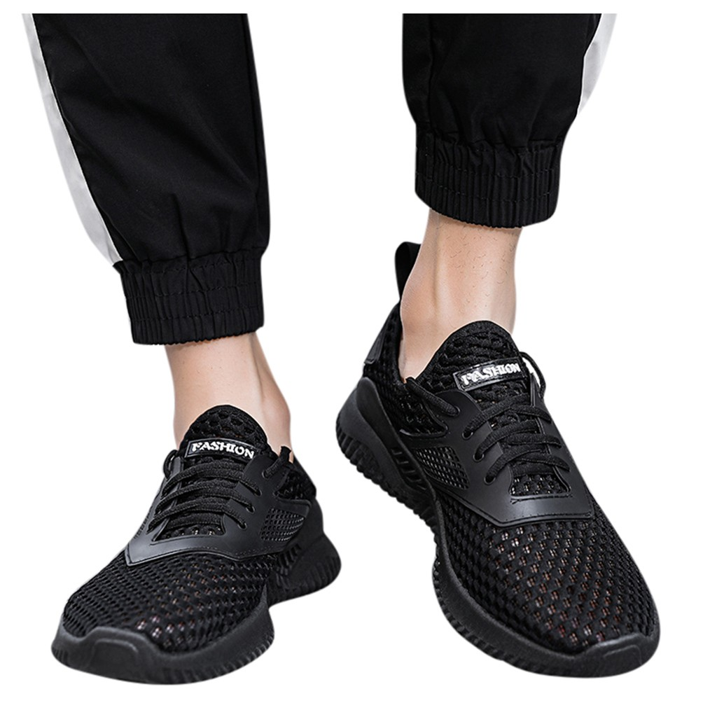 men sport shoes 2020summer Popular Sports Shoes Flying Woven Breathable Casual Men's Shoes Lightweight Breathable Sneakers #z