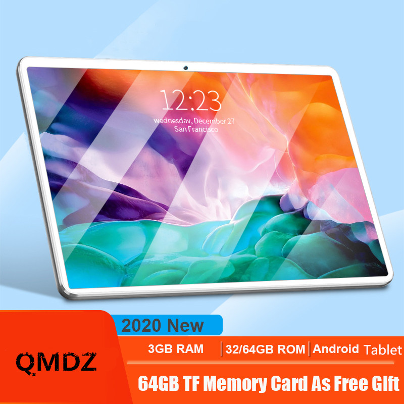 <font><b>10</b></font> Inch <font><b>Tablet</b></font> <font><b>Pc</b></font> Octa Core MT6753 32GB+64GB ( 32GB +64GB TF) 4G LteTab Phone Wifi GPS Bluetooth <font><b>Android</b></font> 7.0 <font><b>Tablets</b></font> 1920x1200 image