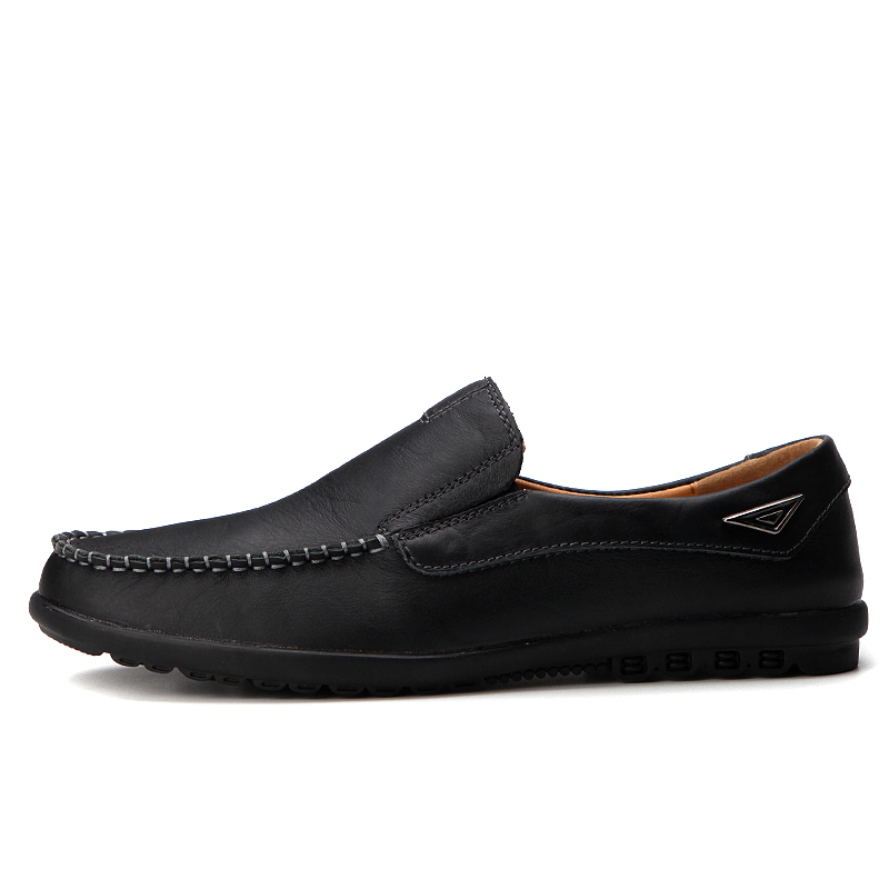 Men Shoes  Mocasines Hombre Genuine Leather Casual Slip On Size 37-47 Homme