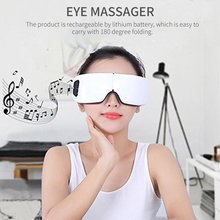 Music Eye Massager Smart Mask Hot Protector Personal Care USB Charging