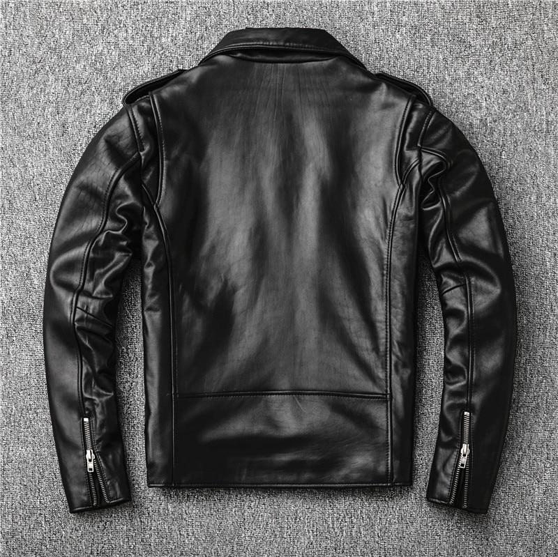 H520ab86a3ef846a884352911011e0da7C Free shipping,Sales!Brand new genuine leather jacket.mens motor biker sheepskin coat.slim plus size jackets.leather outwear