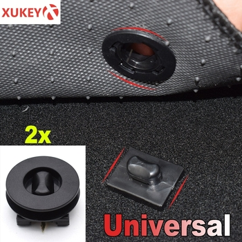 2pcs Universal Car Floor Mat Fastener Clips For LADA Kia Rio Renault Hyundai Toyota Carpet Fixing Grips Clamps mat Buckles image