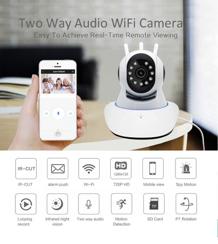Беспроводная мини ip-камера 1080P HD IR с функцией ночного видения, микро камера для домашней безопасности, WiFi, камера для видеоняни