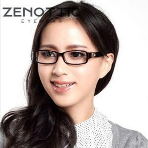 Image 1 - ZENOTTIC 2020 Acetate Eyeglasses Frame For Women Optical Glasses Full Frame Spectacle Oculos De Grau Prescription Myopia Eyewear