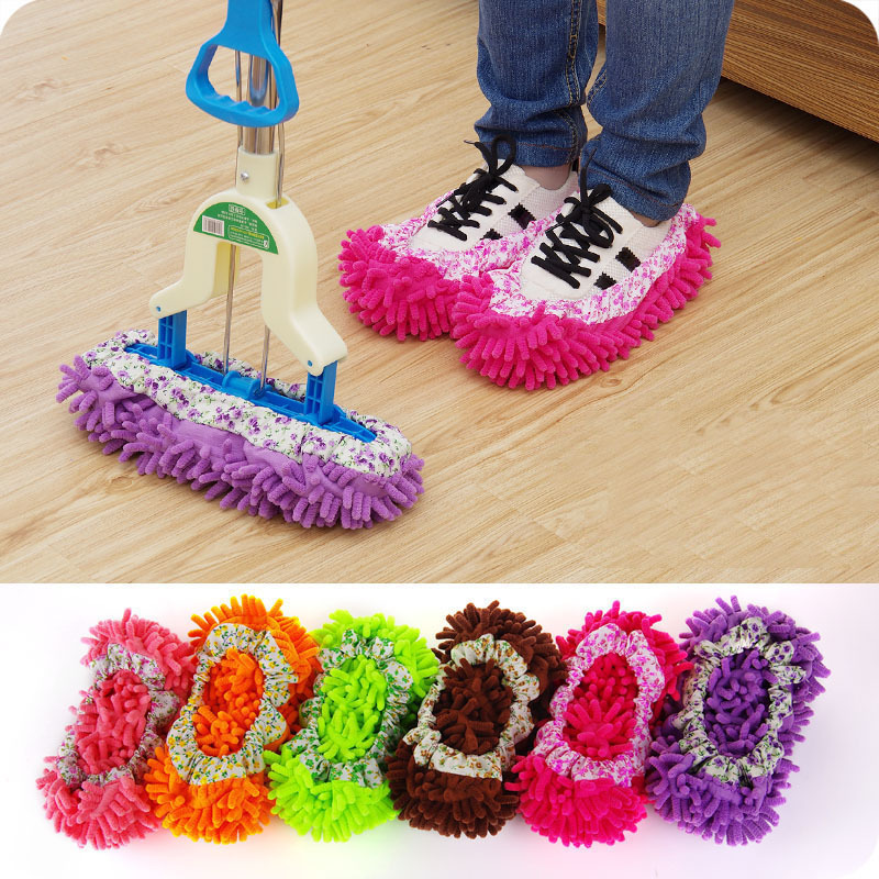 Chenille couvre-chaussures